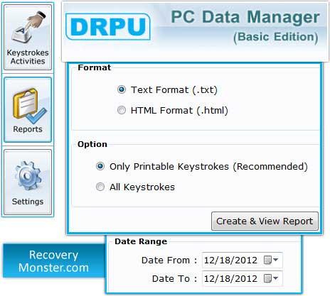 Keystroke Monitoring Software
