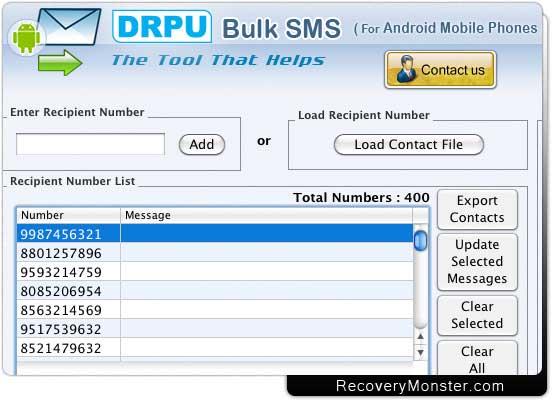 Mac Bulk SMS GSM Mobile