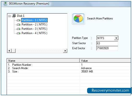 Le permite tener copias de seguridad de los datos perdidos de un medio USB